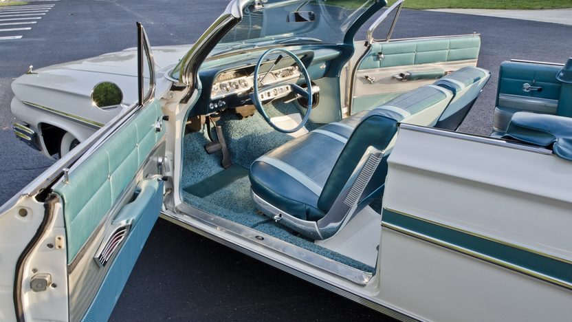1961 Chevrolet Impala Convertible 348 CI, Automatic presented as lot S35 at Boynton Beach, FL 2013 - image6