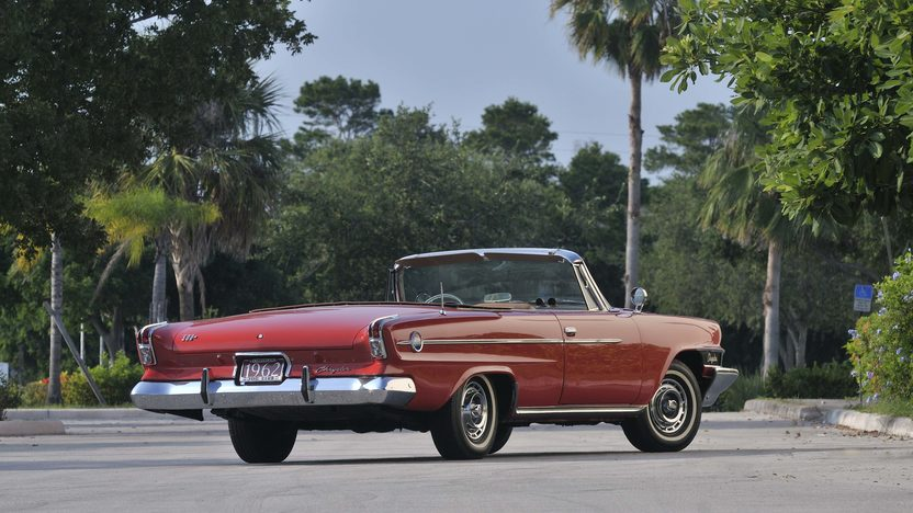 1962 Chrysler 300H Convertible 1 of 123 Produced presented as lot S48 at Boynton Beach, FL 2013 - image2