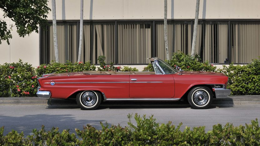 1962 Chrysler 300H Convertible 1 of 123 Produced presented as lot S48 at Boynton Beach, FL 2013 - image3
