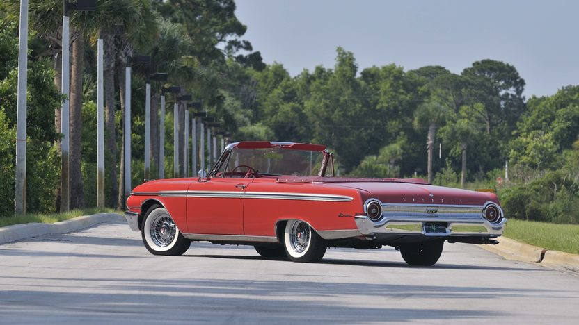 1962 Ford Galaxie Sunliner 352 CI, Red/Red presented as lot S61 at Boynton Beach, FL 2013 - image2