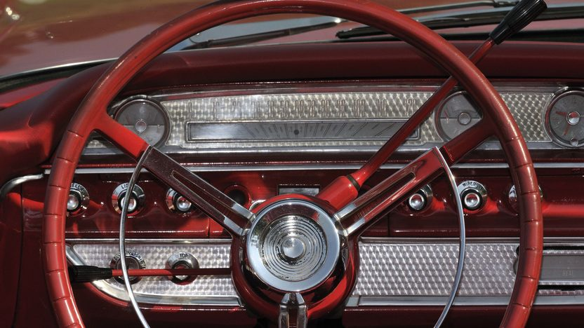 1962 Ford Galaxie Sunliner 352 CI, Red/Red presented as lot S61 at Boynton Beach, FL 2013 - image5
