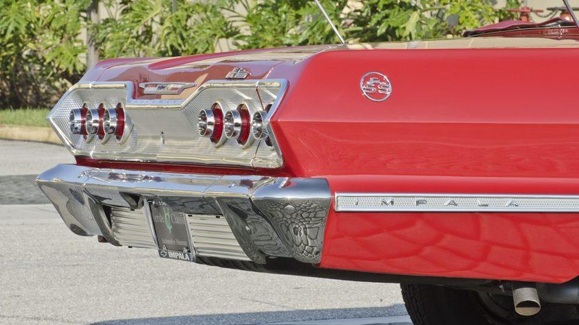 1963 Chevrolet Impala SS Convertible 409 CI, 4-Speed presented as lot S45 at Boynton Beach, FL 2013 - image11