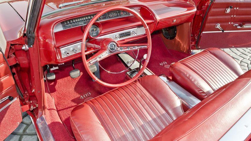 1963 Chevrolet Impala SS Convertible 409 CI, 4-Speed presented as lot S45 at Boynton Beach, FL 2013 - image4