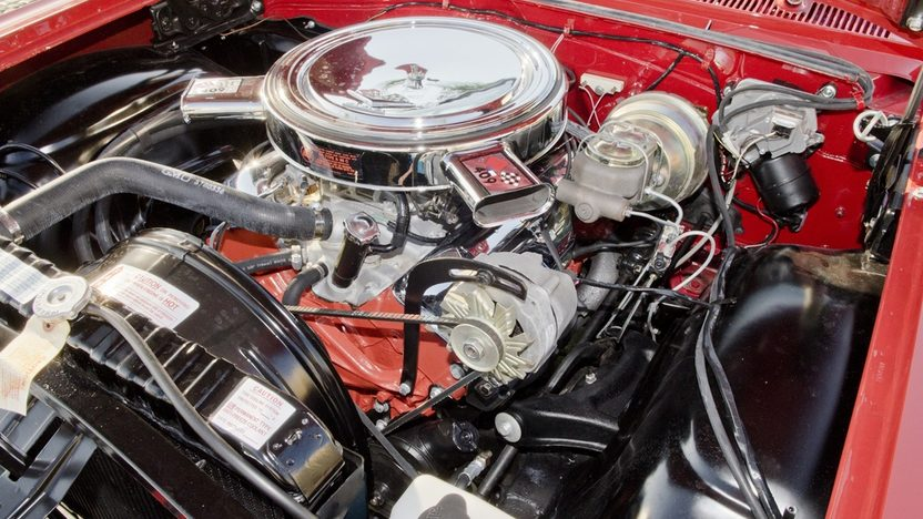 1963 Chevrolet Impala SS Convertible 409 CI, 4-Speed presented as lot S45 at Boynton Beach, FL 2013 - image8