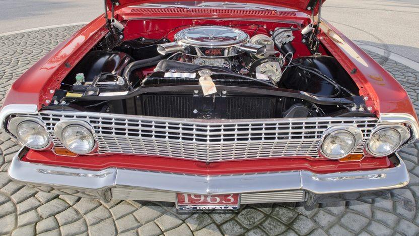 1963 Chevrolet Impala SS Convertible 409 CI, 4-Speed presented as lot S45 at Boynton Beach, FL 2013 - image9