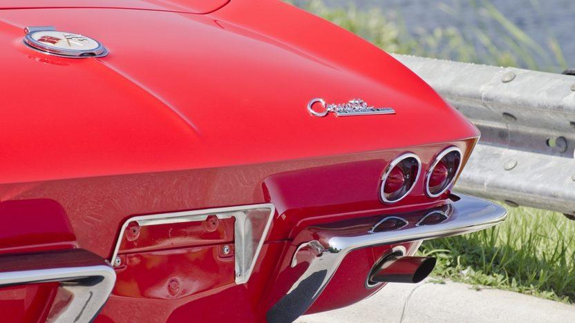 1963 Chevrolet Corvette Convertible 327/340 HP, Custom Paint and Interior presented as lot S44 at Boynton Beach, FL 2013 - image10