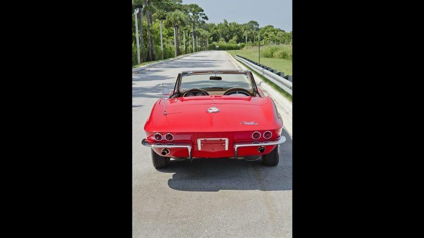 1963 Chevrolet Corvette Convertible 327/340 HP, Custom Paint and Interior presented as lot S44 at Boynton Beach, FL 2013 - image12