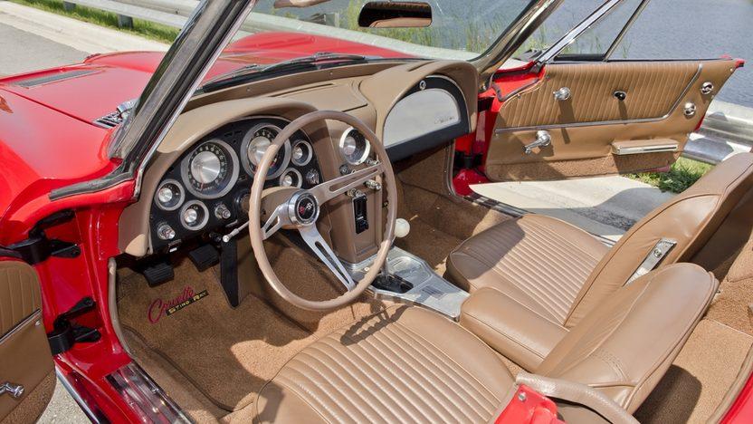 1963 Chevrolet Corvette Convertible 327/340 HP, Custom Paint and Interior presented as lot S44 at Boynton Beach, FL 2013 - image4