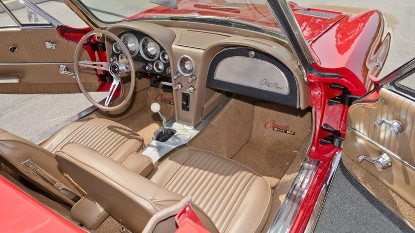 1963 Chevrolet Corvette Convertible 327/340 HP, Custom Paint and Interior presented as lot S44 at Boynton Beach, FL 2013 - image5