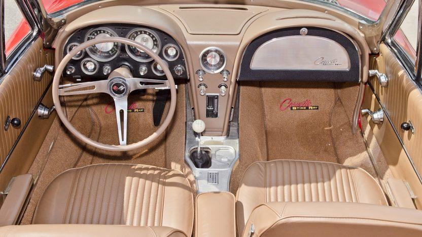 1963 Chevrolet Corvette Convertible 327/340 HP, Custom Paint and Interior presented as lot S44 at Boynton Beach, FL 2013 - image6