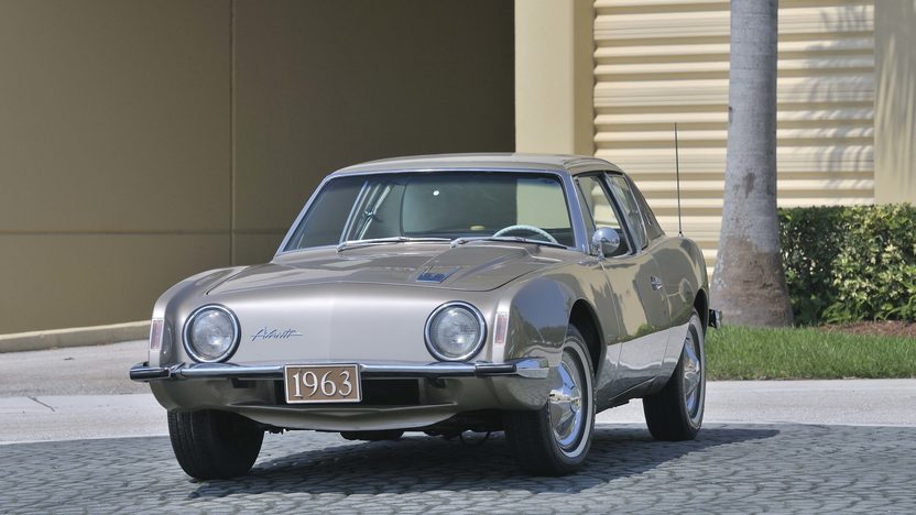 1963 Studebaker Avanti Coupe 289 CI, Dealer Installed R3 Supercharger presented as lot S69 at Boynton Beach, FL 2013 - image10