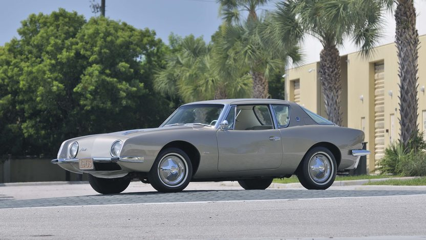1963 Studebaker Avanti Coupe 289 CI, Dealer Installed R3 Supercharger presented as lot S69 at Boynton Beach, FL 2013 - image2