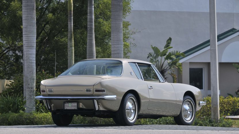 1963 Studebaker Avanti Coupe 289 CI, Dealer Installed R3 Supercharger presented as lot S69 at Boynton Beach, FL 2013 - image3
