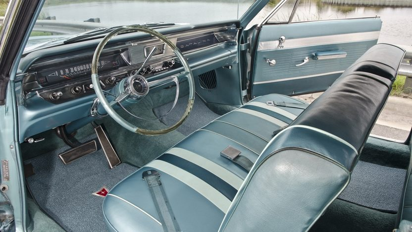 1963 Pontiac Catalina Convertible 389 CI. Power Top presented as lot S16 at Boynton Beach, FL 2013 - image4