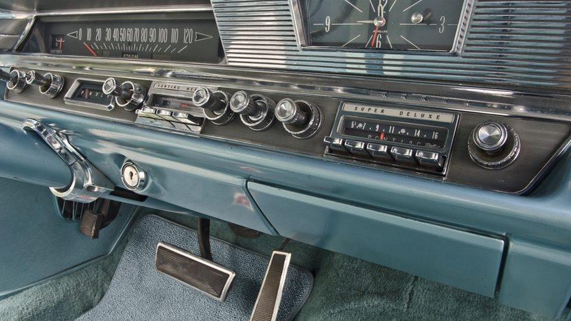 1963 Pontiac Catalina Convertible 389 CI. Power Top presented as lot S16 at Boynton Beach, FL 2013 - image6