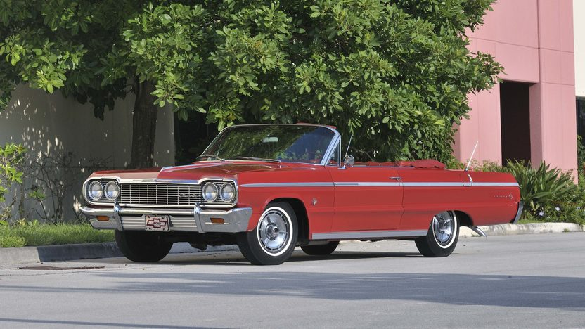 1964 Chevrolet Impala SS Convertible 409 CI, Red/Red presented as lot S30 at Boynton Beach, FL 2013 - image10