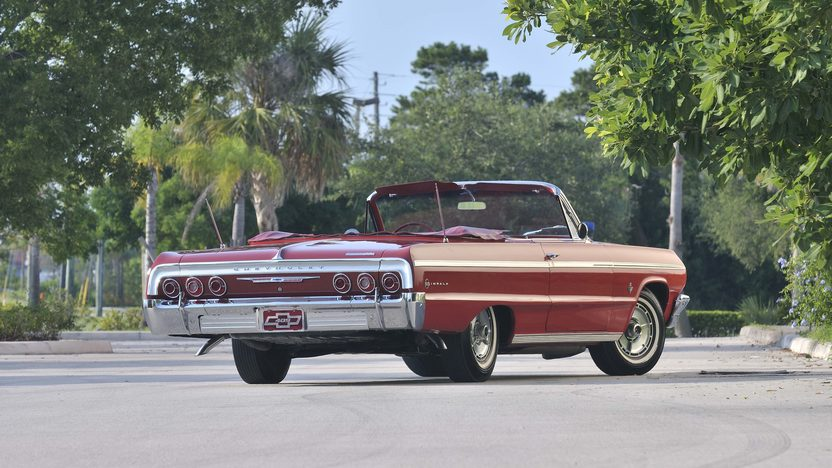 1964 Chevrolet Impala SS Convertible 409 CI, Red/Red presented as lot S30 at Boynton Beach, FL 2013 - image2