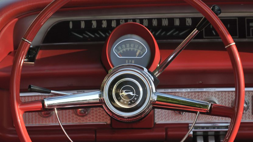 1964 Chevrolet Impala SS Convertible 409 CI, Red/Red presented as lot S30 at Boynton Beach, FL 2013 - image4