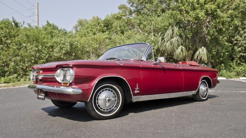 1964 Chevrolet Corvair Monza Spyder 164/150 HP, 4-Speed presented as lot S66 at Boynton Beach, FL 2013 - image10