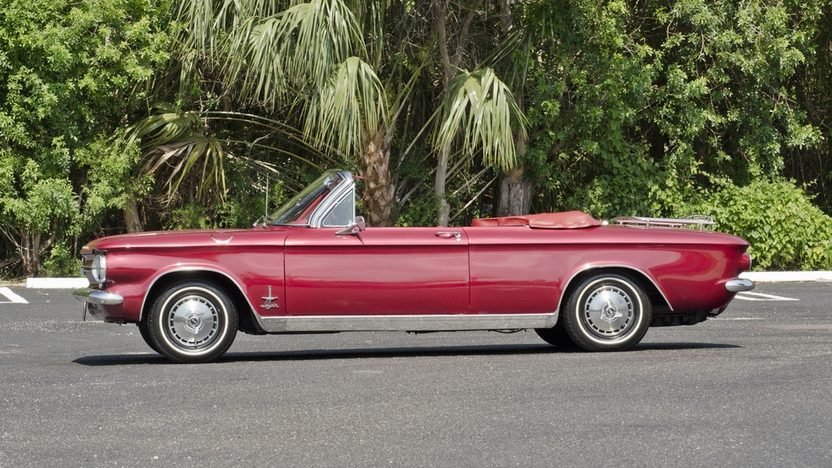 1964 Chevrolet Corvair Monza Spyder 164/150 HP, 4-Speed presented as lot S66 at Boynton Beach, FL 2013 - image3