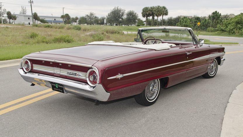 1964 Ford Galaxie 500 XL Convertible 390 CI, 4-Speed presented as lot S18 at Boynton Beach, FL 2013 - image2