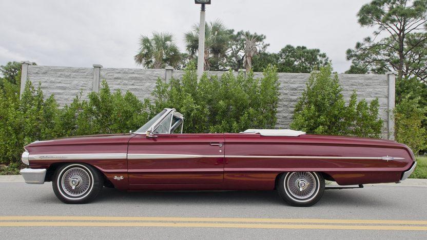 1964 Ford Galaxie 500 XL Convertible 390 CI, 4-Speed presented as lot S18 at Boynton Beach, FL 2013 - image3