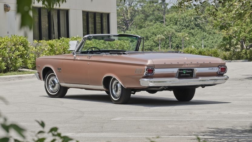 1965 Plymouth Satellite Convertible 426 Wedge, Automatic presented as lot S70 at Boynton Beach, FL 2013 - image2
