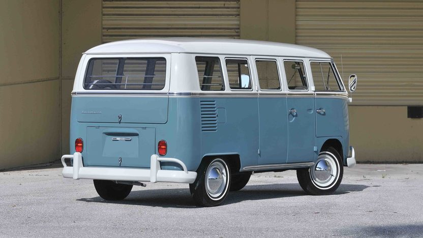 1967 Volkswagen 13 Window Bus 1600 CC, Complete Restoration presented as lot S60 at Boynton Beach, FL 2013 - image11
