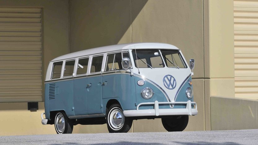 1967 Volkswagen 13 Window Bus 1600 CC, Complete Restoration presented as lot S60 at Boynton Beach, FL 2013 - image12