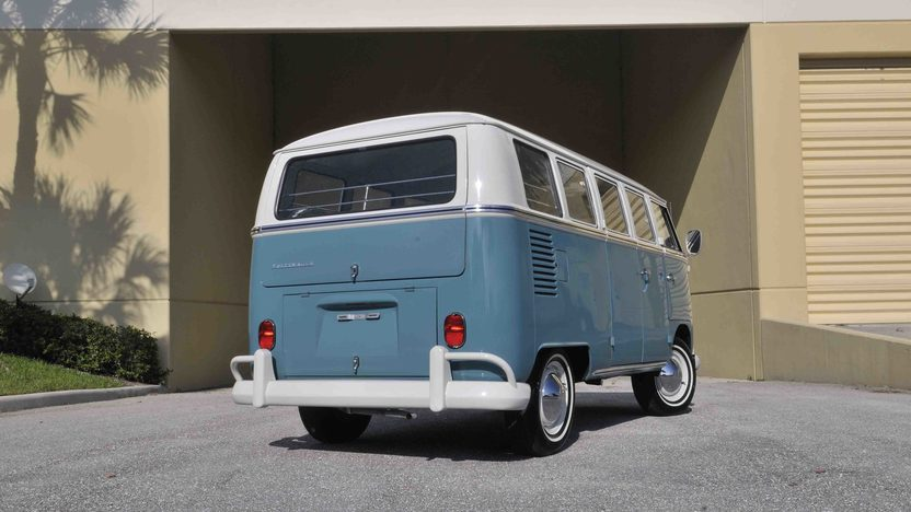 1967 Volkswagen 13 Window Bus 1600 CC, Complete Restoration presented as lot S60 at Boynton Beach, FL 2013 - image2