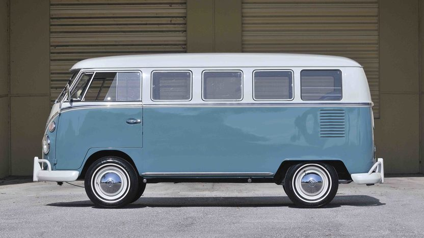 1967 Volkswagen 13 Window Bus 1600 CC, Complete Restoration presented as lot S60 at Boynton Beach, FL 2013 - image3