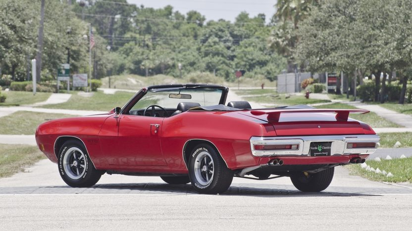 1970 Pontiac GTO Convertible 455 CI, Automatic presented as lot S29 at Boynton Beach, FL 2013 - image2