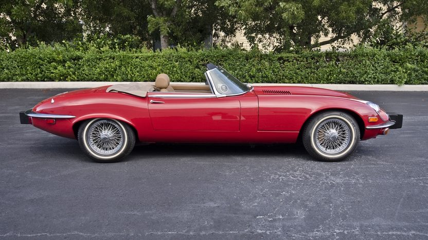 1974 Jaguar XKE Roadster 5.3L, Nut and Bolt Restoration presented as lot S42 at Boynton Beach, FL 2013 - image2