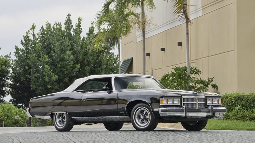 1975 Pontiac Grandville Convertible 455 CI, Loaded with Options presented as lot S74 at Boynton Beach, FL 2013 - image12