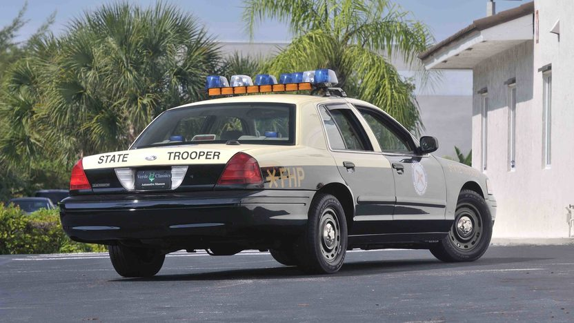 2003 Ford Crown Victoria Police Car Florida Highway Patrol Car Replica presented as lot S78 at Boynton Beach, FL 2013 - image2
