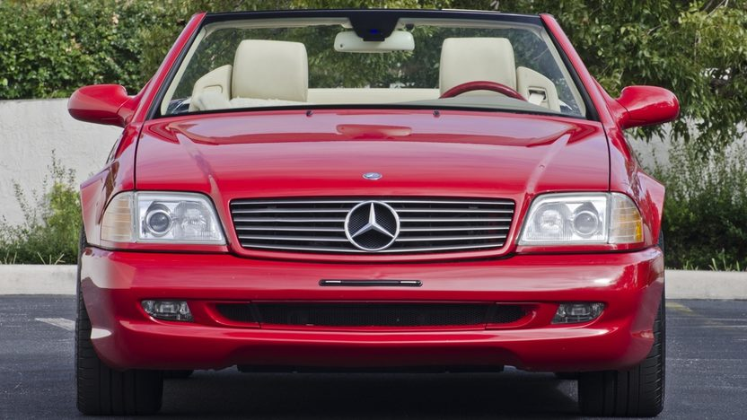 1999 Mercedes-Benz 500SL Roadster Less than 40,000 Miles Since New presented as lot S76 at Boynton Beach, FL 2013 - image12