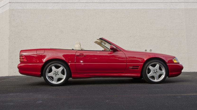 1999 Mercedes-Benz 500SL Roadster Less than 40,000 Miles Since New presented as lot S76 at Boynton Beach, FL 2013 - image3