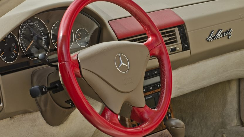1999 Mercedes-Benz 500SL Roadster Less than 40,000 Miles Since New presented as lot S76 at Boynton Beach, FL 2013 - image4