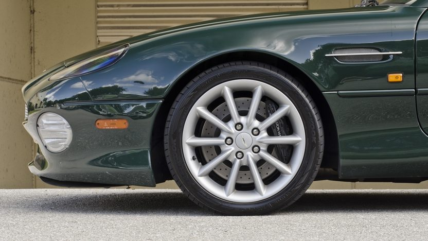2002 Aston Martin DB7 Vantage Convertible 6.0L V-12, 29,000 Miles presented as lot S64 at Boynton Beach, FL 2013 - image10