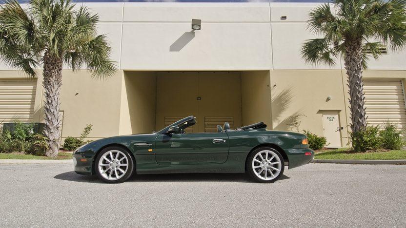 2002 Aston Martin DB7 Vantage Convertible 6.0L V-12, 29,000 Miles presented as lot S64 at Boynton Beach, FL 2013 - image2