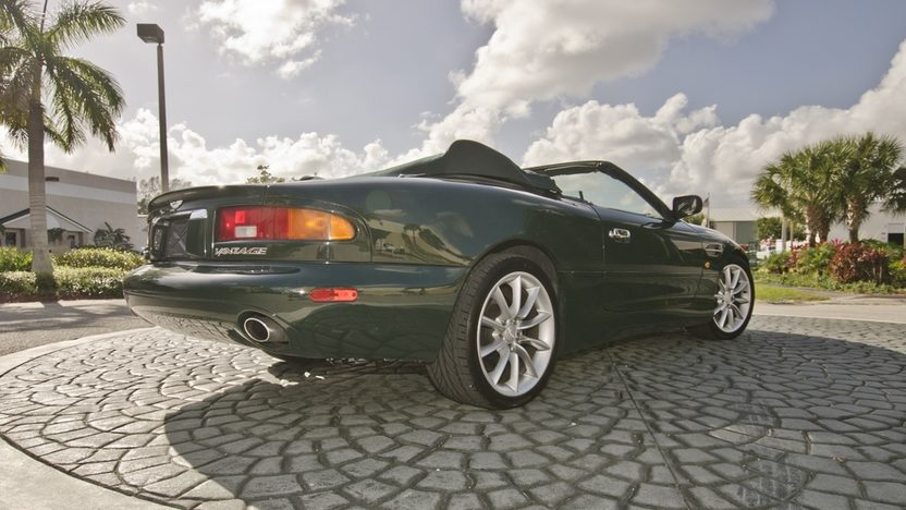 2002 Aston Martin DB7 Vantage Convertible 6.0L V-12, 29,000 Miles presented as lot S64 at Boynton Beach, FL 2013 - image3