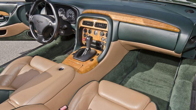 2002 Aston Martin DB7 Vantage Convertible 6.0L V-12, 29,000 Miles presented as lot S64 at Boynton Beach, FL 2013 - image4