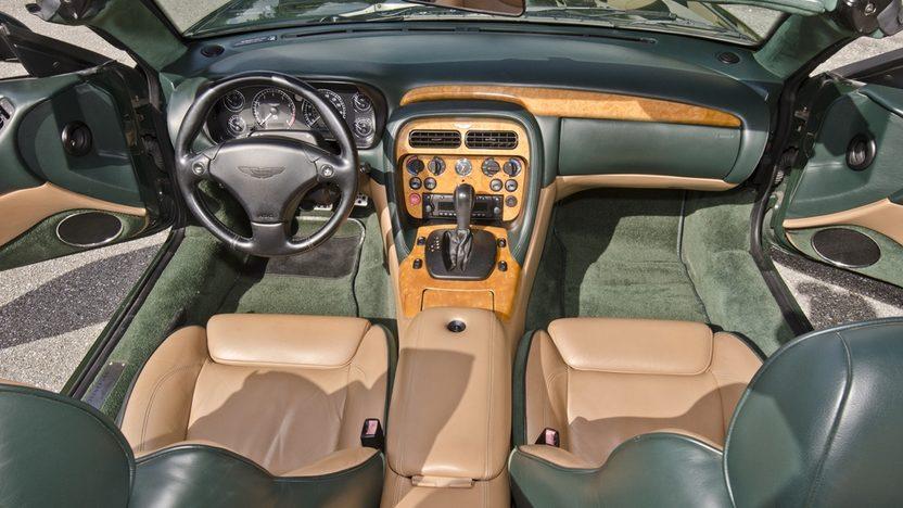 2002 Aston Martin DB7 Vantage Convertible 6.0L V-12, 29,000 Miles presented as lot S64 at Boynton Beach, FL 2013 - image5