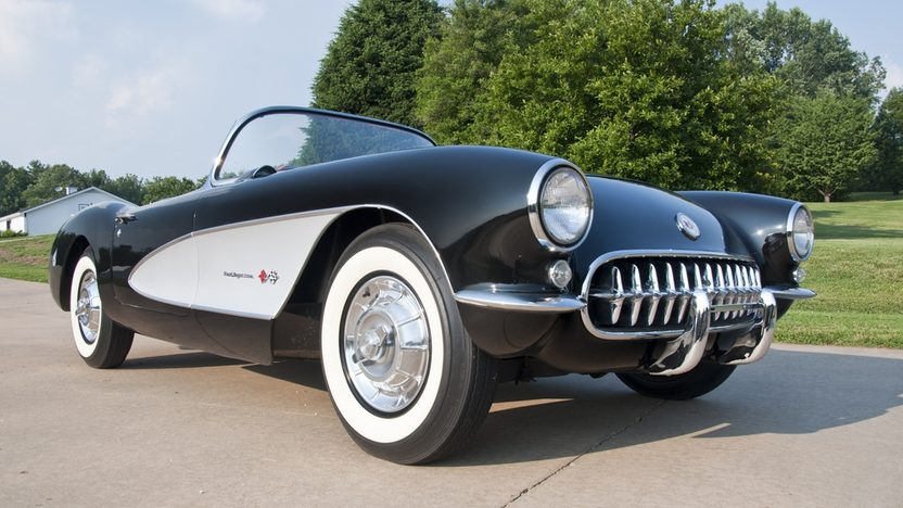 1957 Chevrolet Corvette Convertible 283/283 HP, 4-Speed presented as lot S21 at St. Charles, IL 2011 - image2