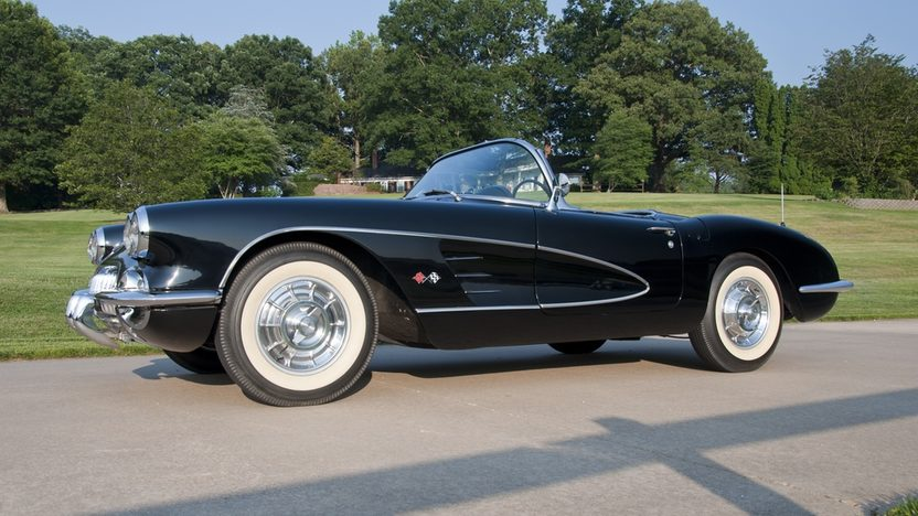 1958 Chevrolet Corvette Convertible 283/270 HP, 4-Speed presented as lot S22 at St. Charles, IL 2011 - image3