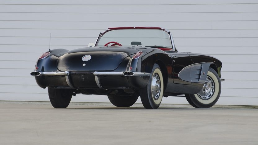 1960 Chevrolet Corvette Convertible 283/270 HP, 4-Speed presented as lot S24 at St. Charles, IL 2011 - image3