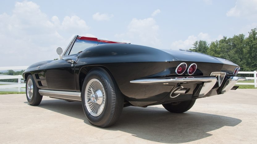 1964 Chevrolet Corvette Convertible 327/375 HP, 4-Speed presented as lot S30 at St. Charles, IL 2011 - image2