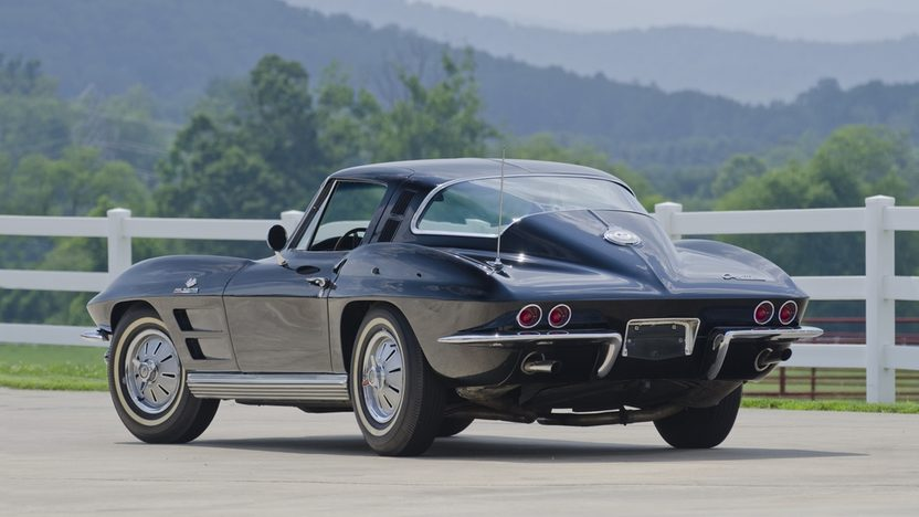 1964 Chevrolet Corvette Coupe 327/375 HP, 4-Speed presented as lot S32 at St. Charles, IL 2011 - image3