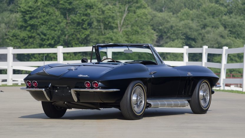 1965 Chevrolet Corvette Convertible 396/425 HP, 4-Speed presented as lot S37 at St. Charles, IL 2011 - image2