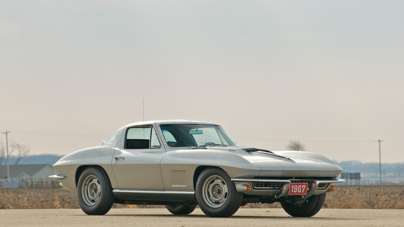 1967 Chevrolet Corvette Coupe 427/400 HP, 4-Speed presented as lot S88 at St. Charles, IL 2011 - image2